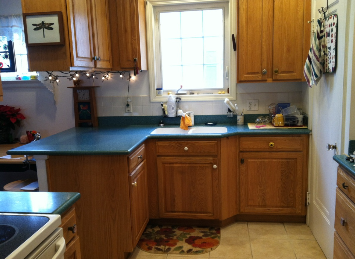 My house then and now for Kitchens now